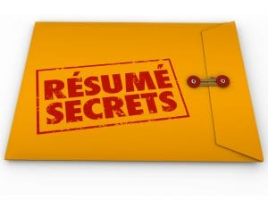 Resume Secrets Yellow Envelope Help Guidance Tips Advice Job Int