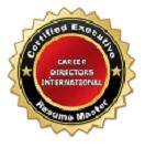 Certified-Executive-Resume-Master