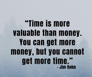 time worth more than money